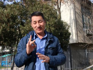 Talgat Kashkaraliev is an advocate for people with disabilities in the Kyrgyz Republic.